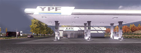 Gas Station YPF