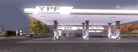 Gas Station YPF