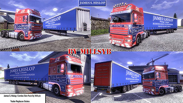 James S. Hislop combo skin pack
