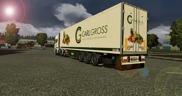 Krone Coliner trailer