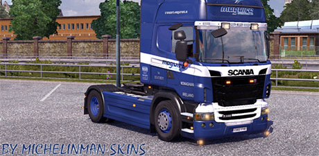 Maguire International Scania Skin
