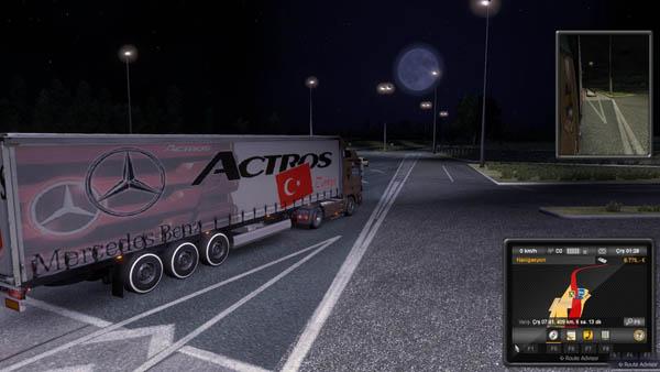 Mercedes benz actros turkey trailer skin for Mercedes benz turkey