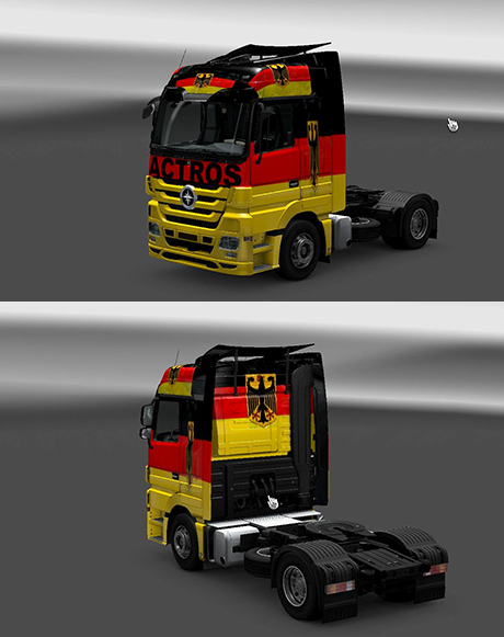 Mercedes-Benz Germany Skin
