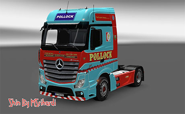 Mercedes-Benz MP4 Pollock Skin