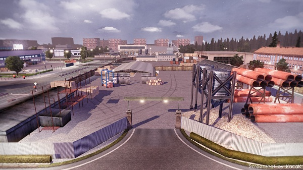 New Harder Dover - Hannover - Calais Map