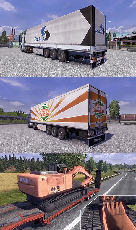 Original trailers modification