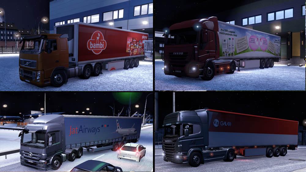 Real Serbian Companies Mod ETS2 Naim