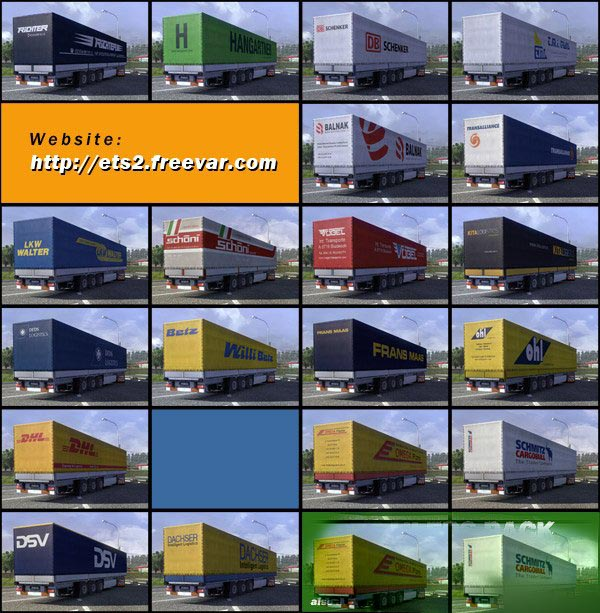 Realistic TRAILER PACK with Textures