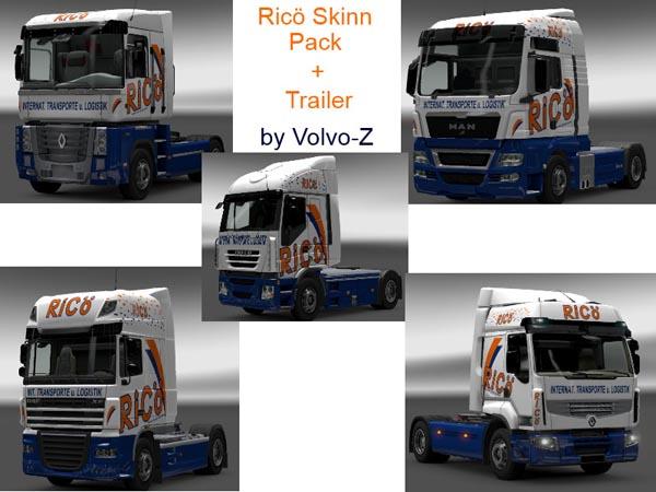 RiCo Skinn Pack And Trailer