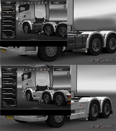 Scania 6×4 Side