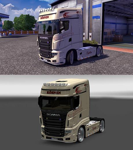 Scania R700 Kohnen Skin
