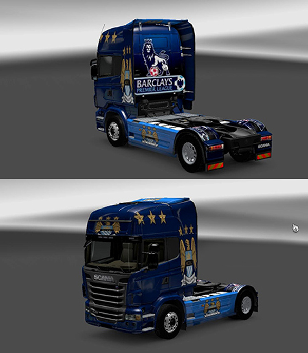 Scania R730 MC Skin