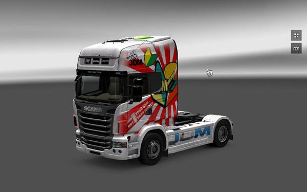 Scania Skin JDM