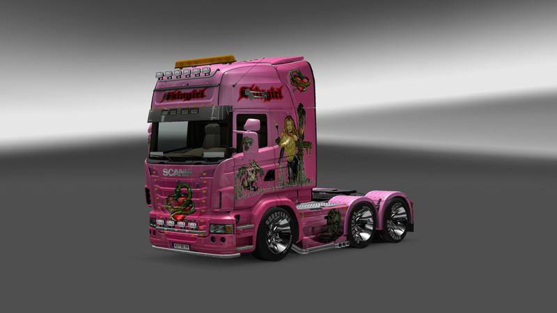 Scania Skingirl Mod