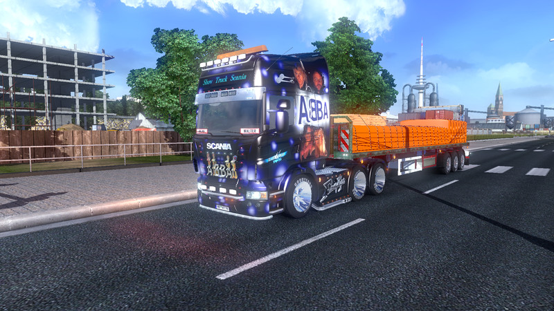 Scania Truck Show Abba Ets2planet Com