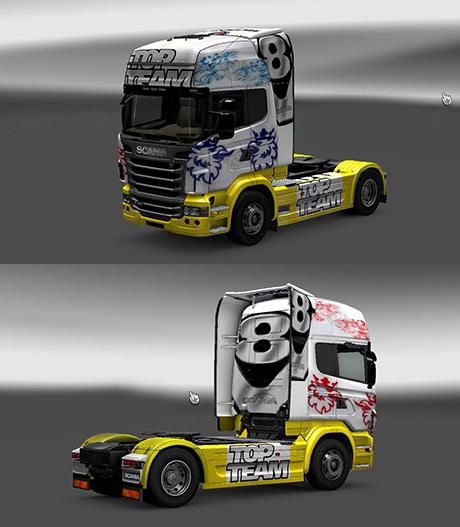 Scania V8 Skin 2