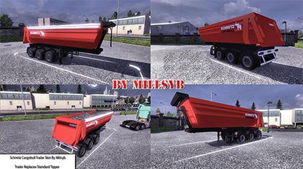 Schmitz CargoBull trailer skin
