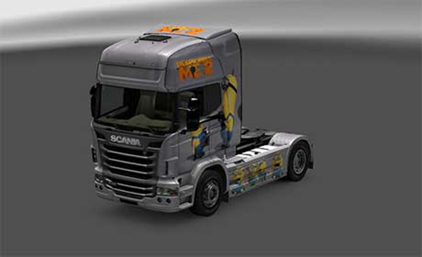 Skin Despicable 2 For Scania