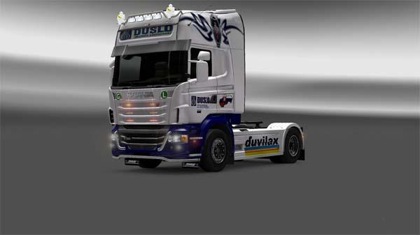 Skin Scania DUSLO