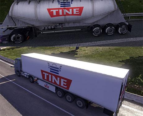 TINE trailer skin