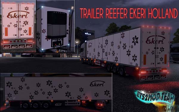 Trailer Reefer Ekeri Holland