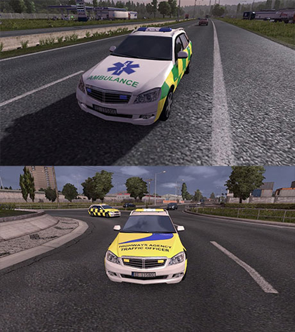 UK AI Emergency Vehicles | ETS2planet.com