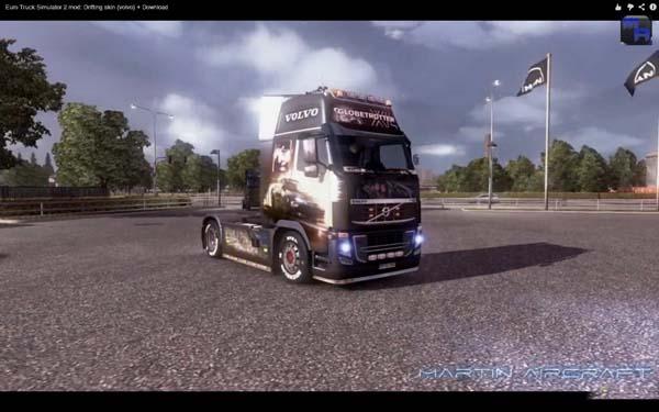 Volvo Drifting skin