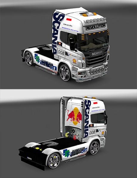 White skin Scania