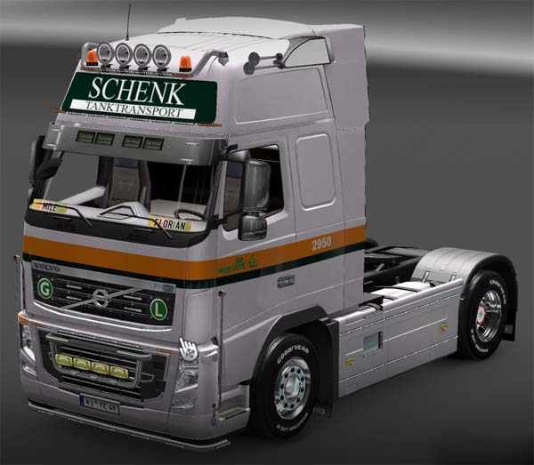 Air Products Volvo skin
