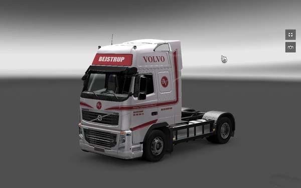 Bejstrup Vognmandsforretning skin for Volvo