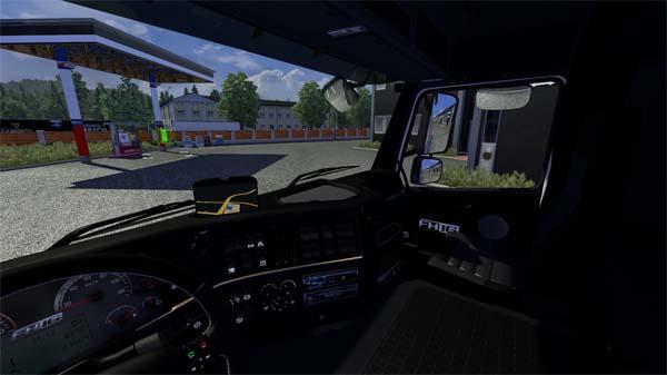 Black Interior for Volvo