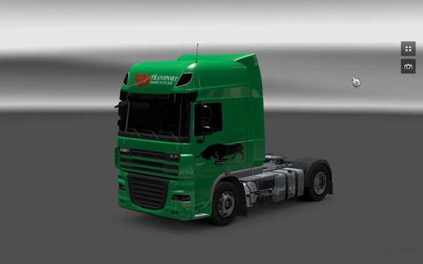 DAF Troy Transport Skin