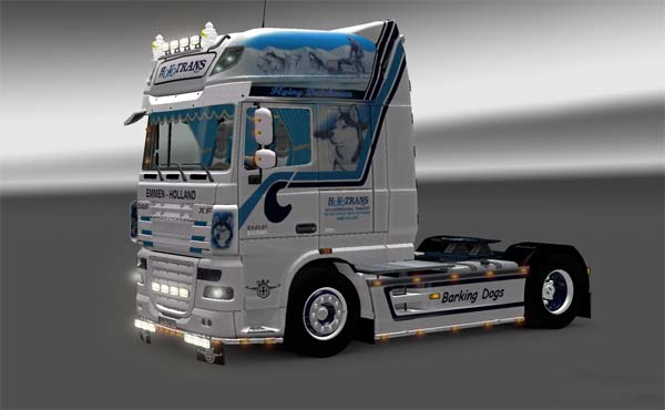 DAF XF 105.560 Hovotrans Barking Dogs