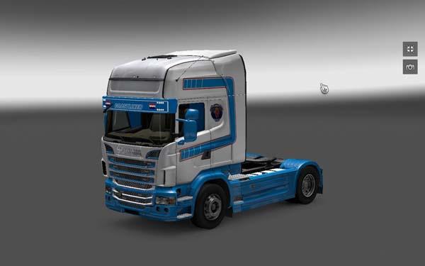 DAF XF and Scania VeBa Trans