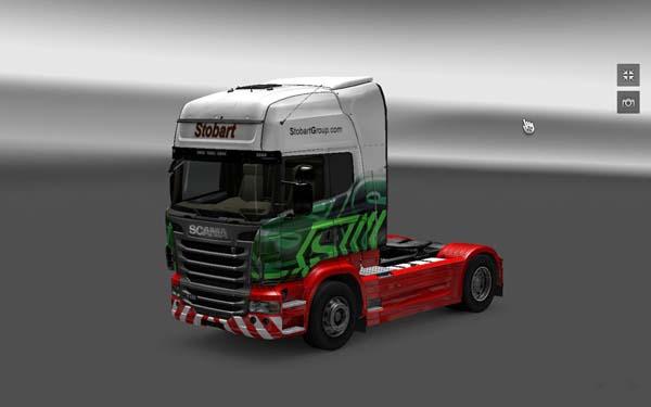 Eddie Stobart Scania Skin Ets2planet Com