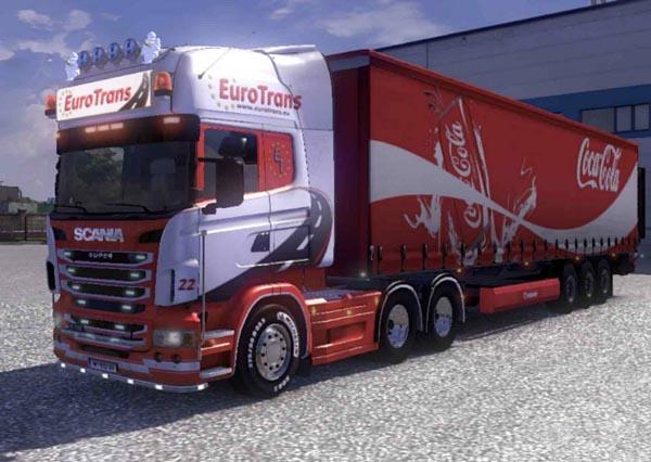 Eurotrans Scania skin