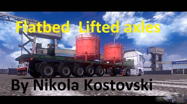 Flatbed Lifted Axles v1