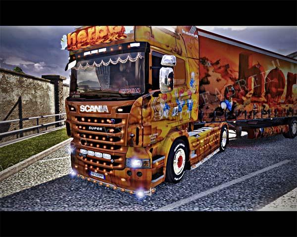 HERPA Monument Truck skin