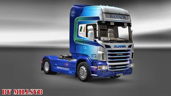 Hannon skin for Scania