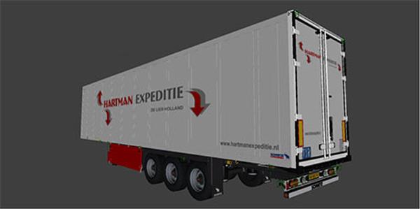 Hartman Expedite trailer skin