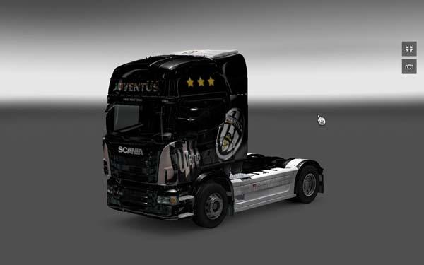 Juventus skin for Scania