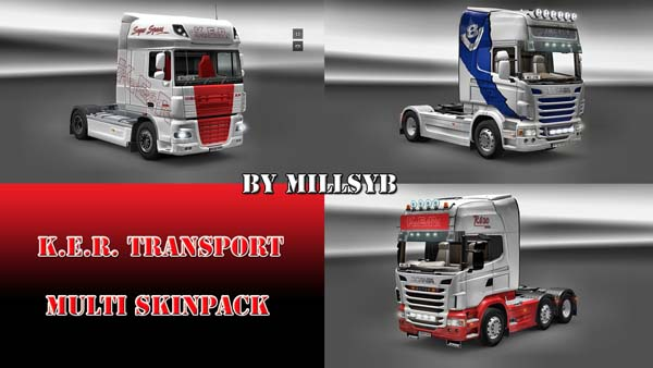K.E.R. Transport multi skinpack