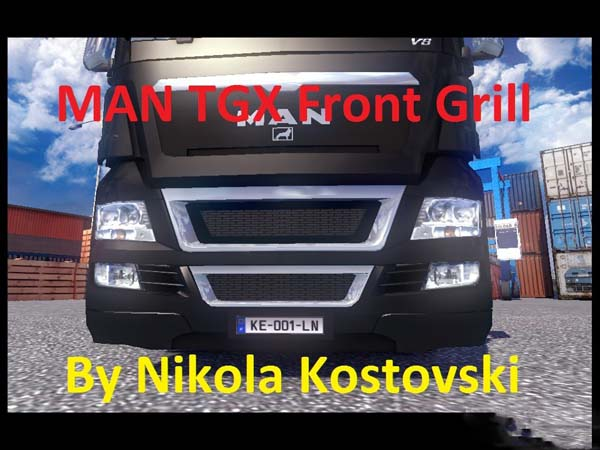 MAN TGX Front Gril image