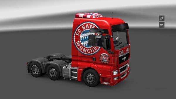 MAN XF FC Bayern Munchen Skin