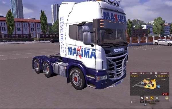 MAXIMA Scania Skin