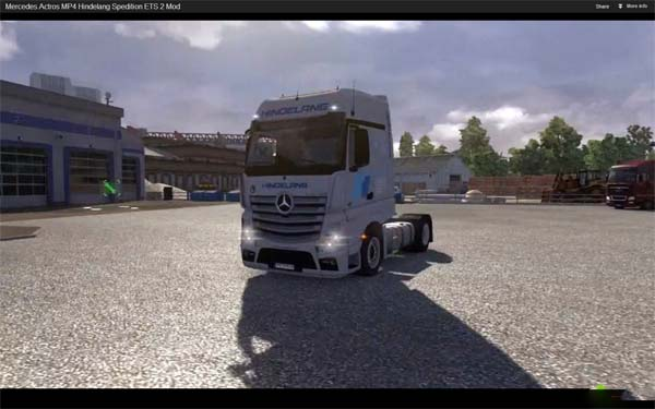 MB Actros MP4 Hindelang Spedition