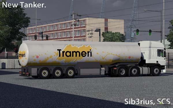 New Tanker Cistern