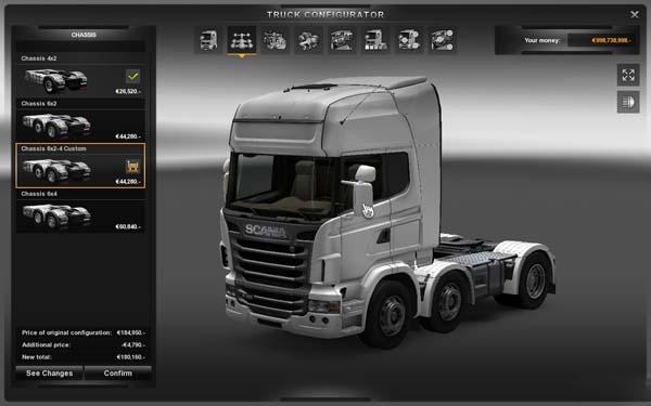 New chassis for all trucks v2 image
