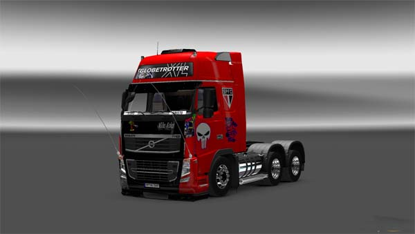 Qualificada Volvo skin