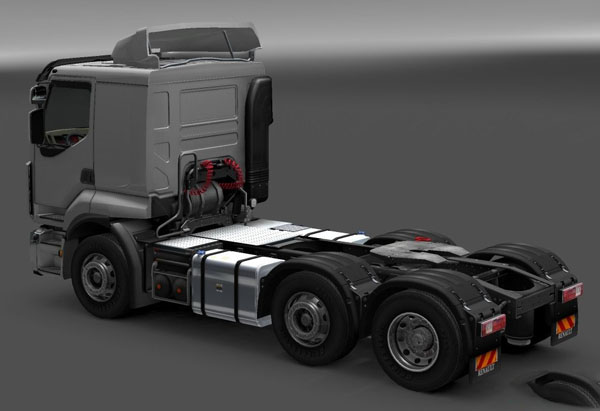 Renault Premium 6×2-4 and 6×4 chassis re-edit